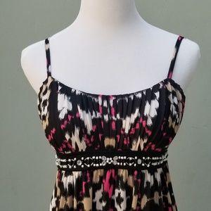 INC International Concepts Dresses - Macy's INC Petite Beaded Maxi Dress